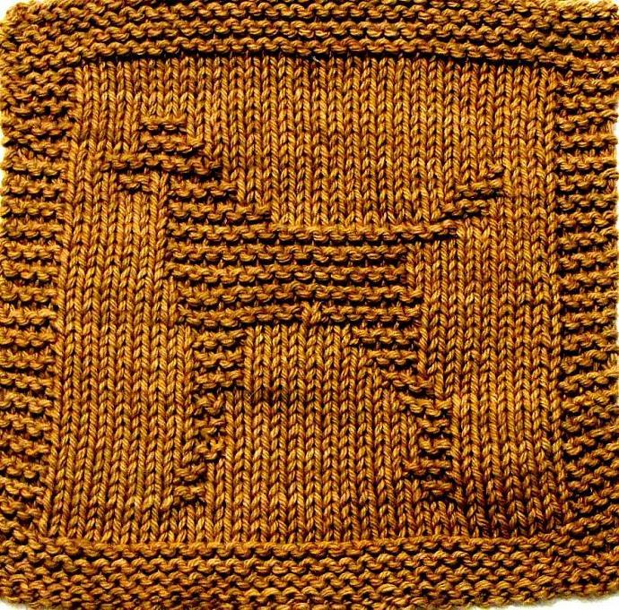 Knitting Cloth Pattern -  DALMATION - PDF