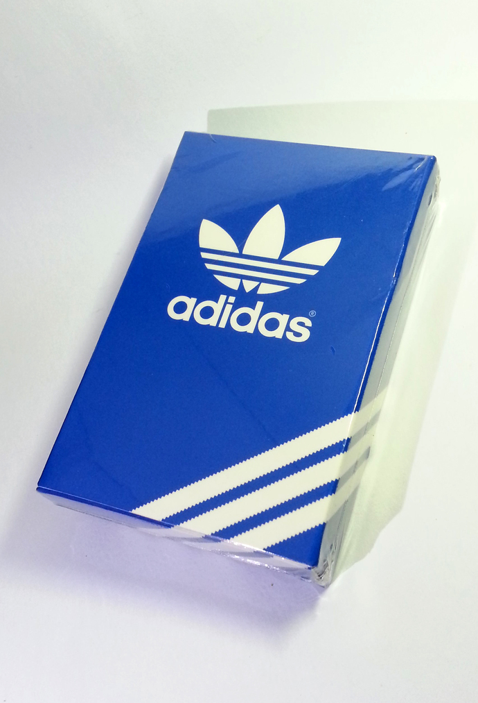 Adidas Originals Playing Cards Deck - Hong Kong Exclusive Item - Brand New