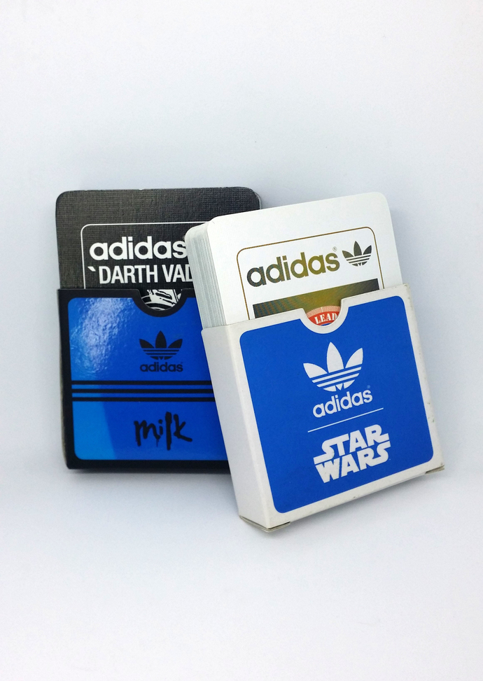 Pair Of Adidas X Star Wars Playing Cards (Black Darth Vader + Stormtrooper) -