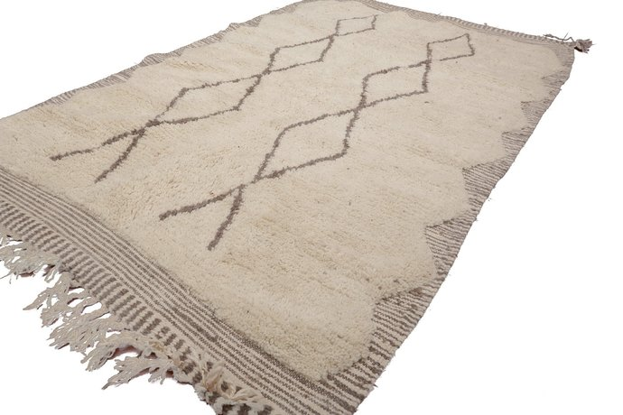 Moroccan Beni Ourain Rug Azilal Rug Authentic By Craftic On Zibbet