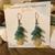 Faux Sea Glass Waterfall Earrings