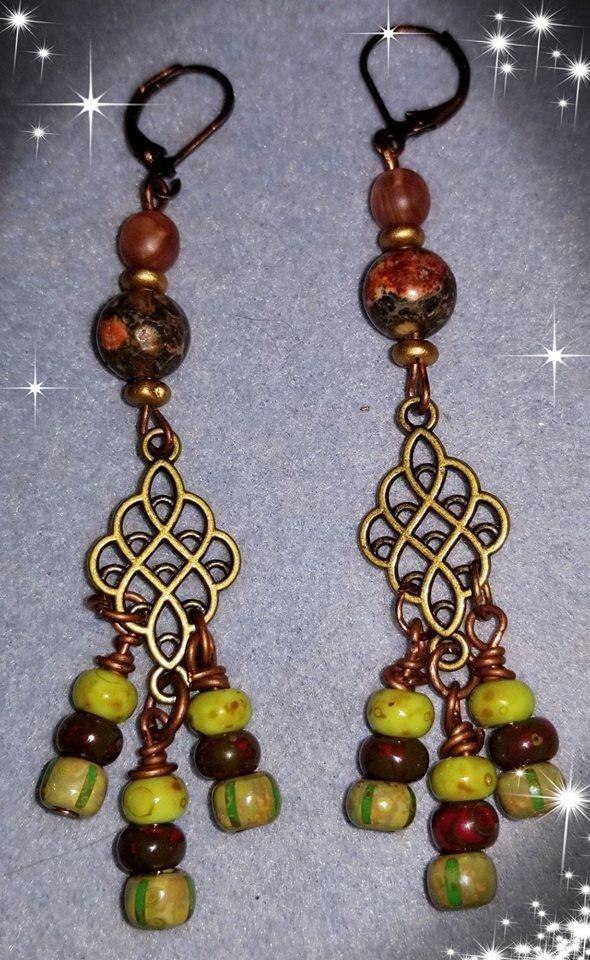 Fiesta Dangle Earrings