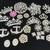 Boho Grade A Rhinestone Embellishment Lot 9, 14 or 29 piece lot of DIY