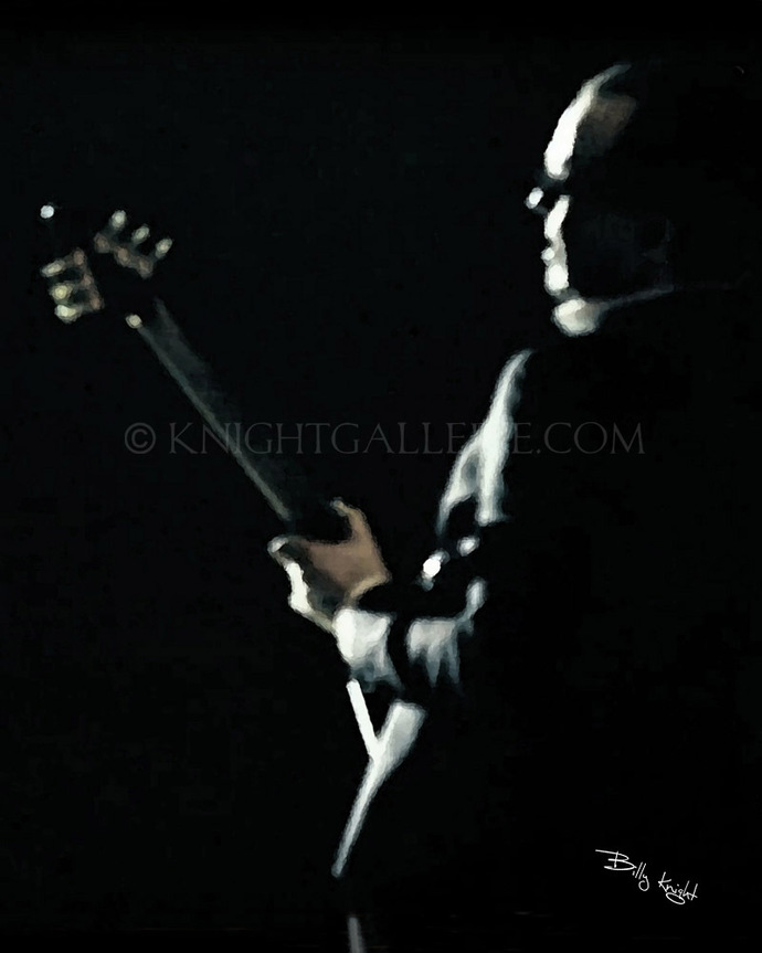Guitar Player Illustration: Joe Bonamassa?