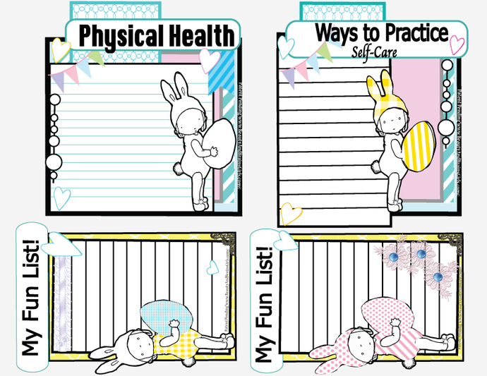 Small 15 Food Journaling Cards Journaling Cards-Journaling Card Collage-