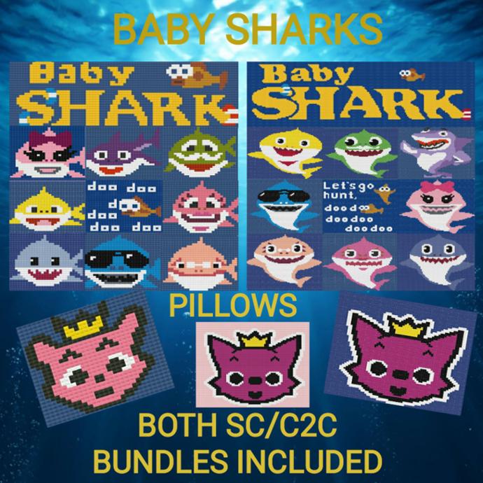 Baby Shark Doo Doo Bundle - SC & C2C - Full Version