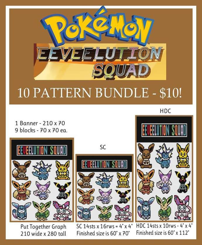 Pokemon Eeveelution Bundle - SC - HDC - Full Version