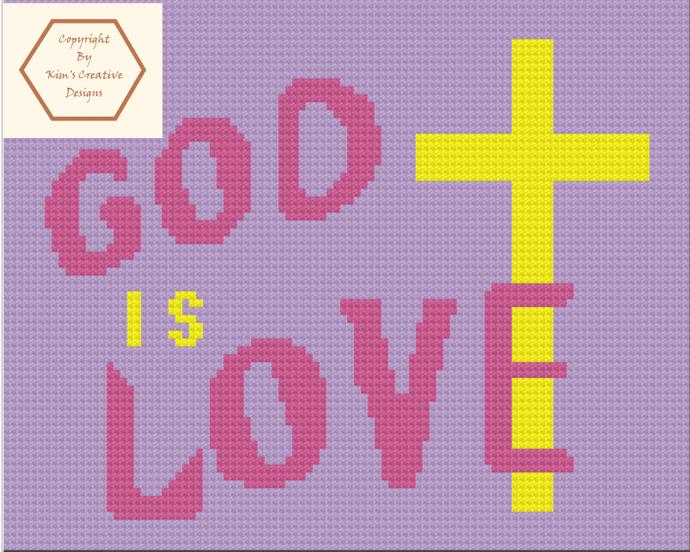 God is Love - 70 x 100 - C2C