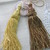 "1pieces-Gold Thread Curtain Tassel/NEB101-Large 6.5"" Vintage Window Accessories/"
