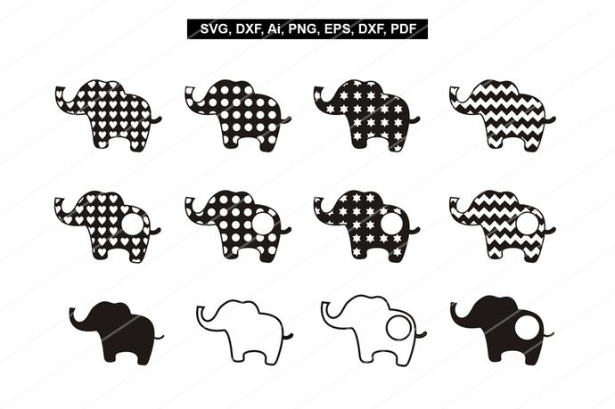 Elephant svg files,Baby elephant print,Elaphant head,Elephant