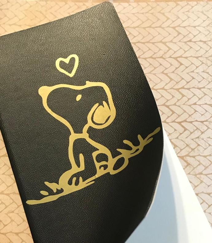 Snoopy Design Note Book