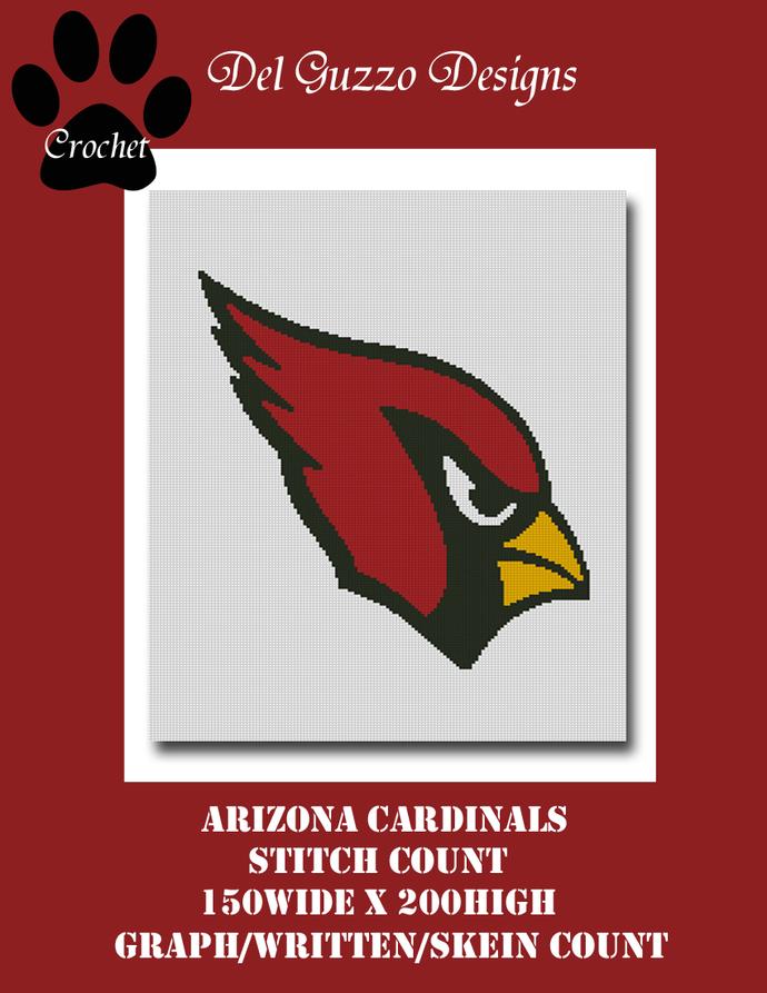 Arizona Cardinals Crochet Graph Pattern