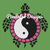 Ying Yang Turtle Pattern - SC - 180x220 Throw - Graph w/Written - Full Version