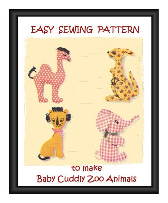 Instant Digital Download PDF   Sixties Easy Beginners Sewing Pattern   to make