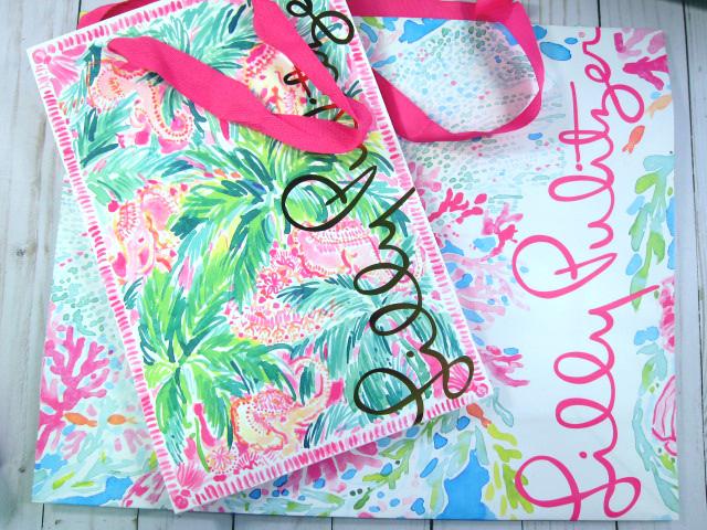 Shabby Chic Pastel Paper Gift Bag