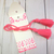 Shabby Chic Pink Pastel Paper Gift Tag Bag Envelope Tussle