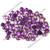 Amethyst 4mm Gemstone Cabochon Rose Cut FOR THREE