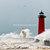 Lighthouse Portrait: November Storm in Kenosha, Wisconsin