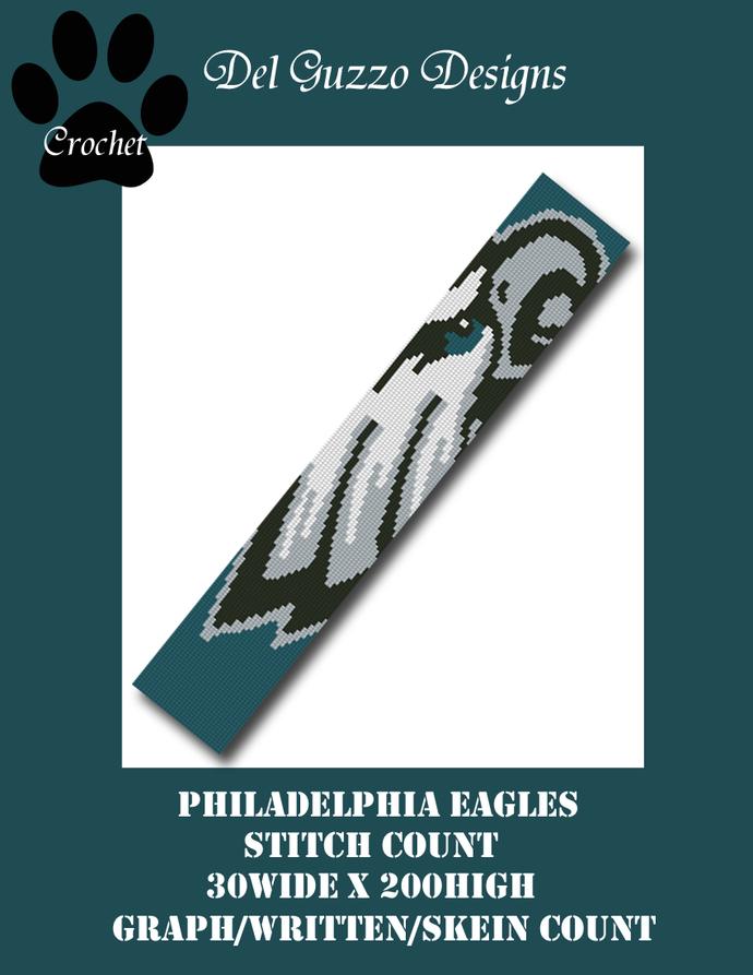 Philadelphia Eagles Scarf 30x200