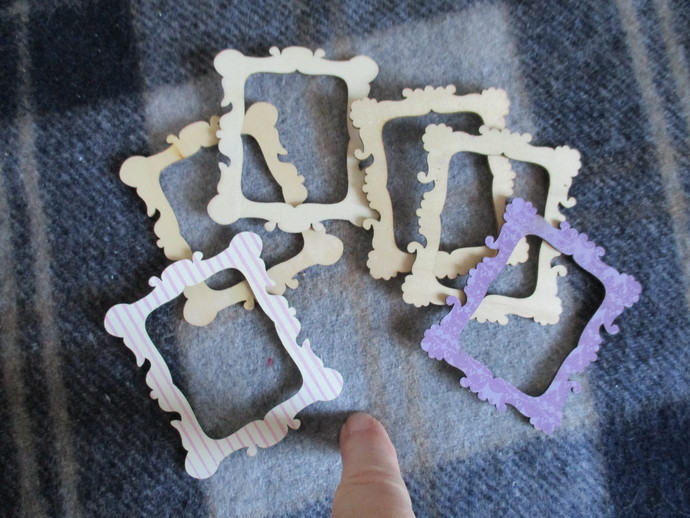 6 x Wooden Picture Frames