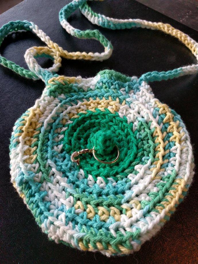 Mermaid Pierced Nipple Booby Bag