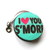 Measuring Tape I Love S'Mores Retractable Tape Measure