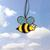 Stained Glass, Bumble Bee, Bee Suncatcher, Gift, Summer Decor, Glass Bee