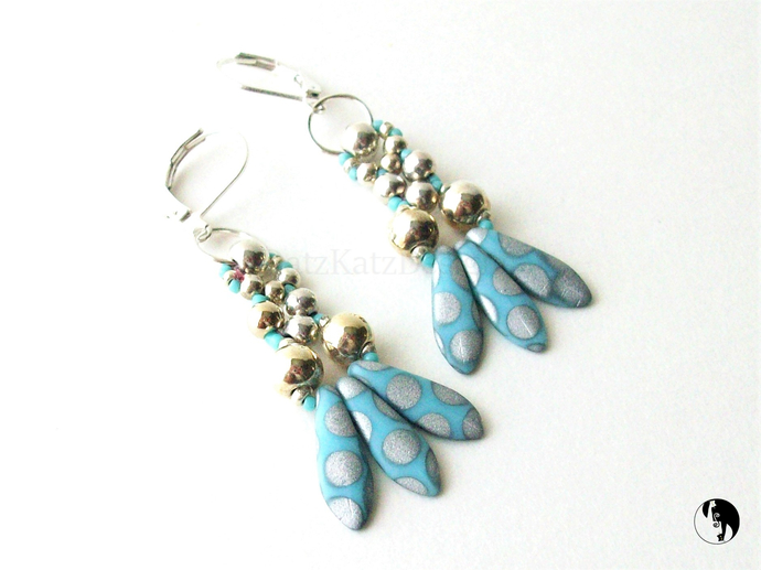 Fish Tail Earrings Tutorial