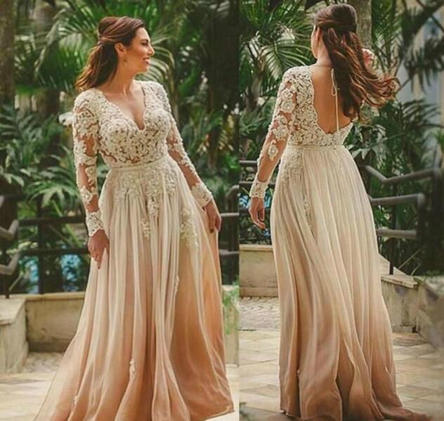 Champagne Boho Beach Wedding Dresses A By Miss Zhu Bridal On Zibbet