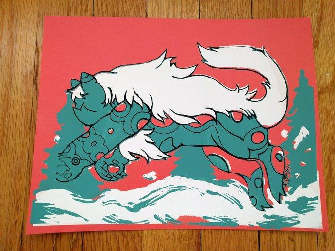 Ocean Jasper Great North SU Print