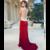 Sexy Mermaid Prom Dresses Chiffon Graduation Dress Long Evening Dress Formal