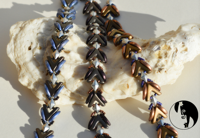 Vadonia Bracelet Pattern by DatzKatz Designs