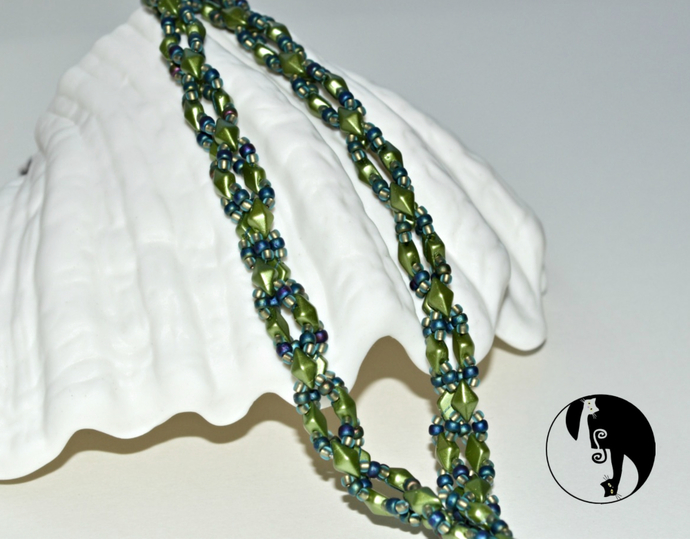 This a Way-That A Way Beaded Rope Pattern by DatzKatz Designs