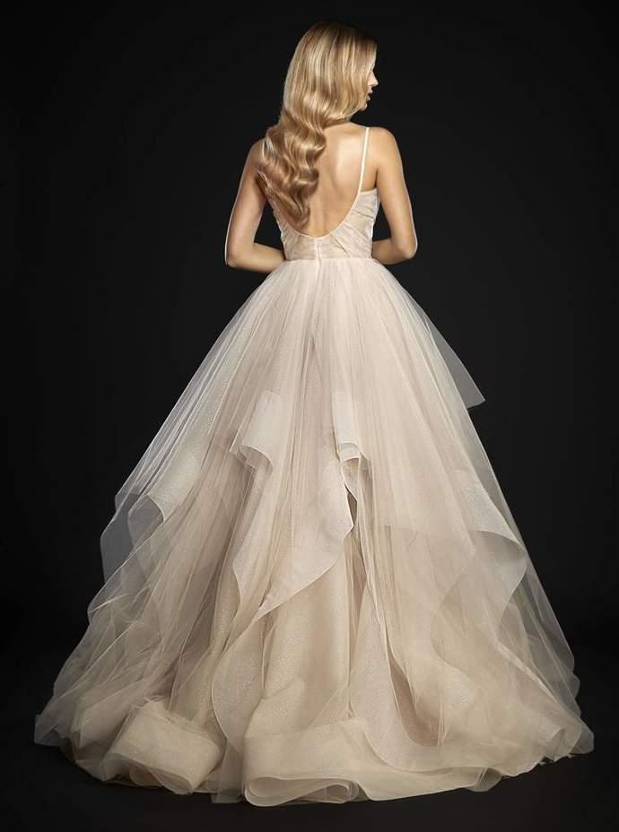 Spaghetti Chic Tulle Prom Dresses, Long Prom Dresses, Cheap Prom Dresses