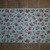 N126 Paper Napkins (Pack of 2) Aqua Spots with Red and Pink Roses Shabby Chic