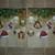 N137 Paper Napkins (Pack of 2) Christmas Prestn Baubles, Santa Hat, Bells and