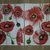 N139 Paper Napkins (Pack of 2) Red Poppies, Remembrance Anzac War Soliders