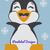 Happy Penguin Pattern - SC - 180x240 Throw - Graph w/Written - Full Version
