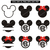 Mickey mouse svg files,Mickey mouse cut files,Cricut,Silhouette,Mickey mouse