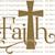 Swirly Faith Cross Vinyl Decal Sticker Christian God Prayer Cross Vehicle Bible