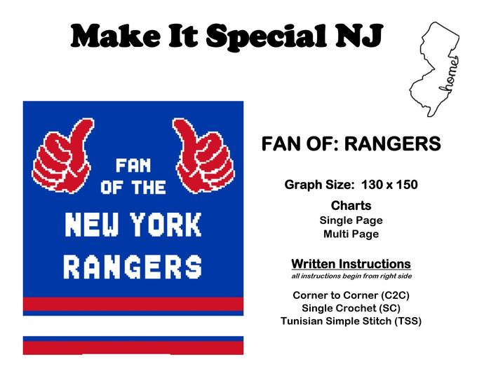 Fan Of The New York Rangers