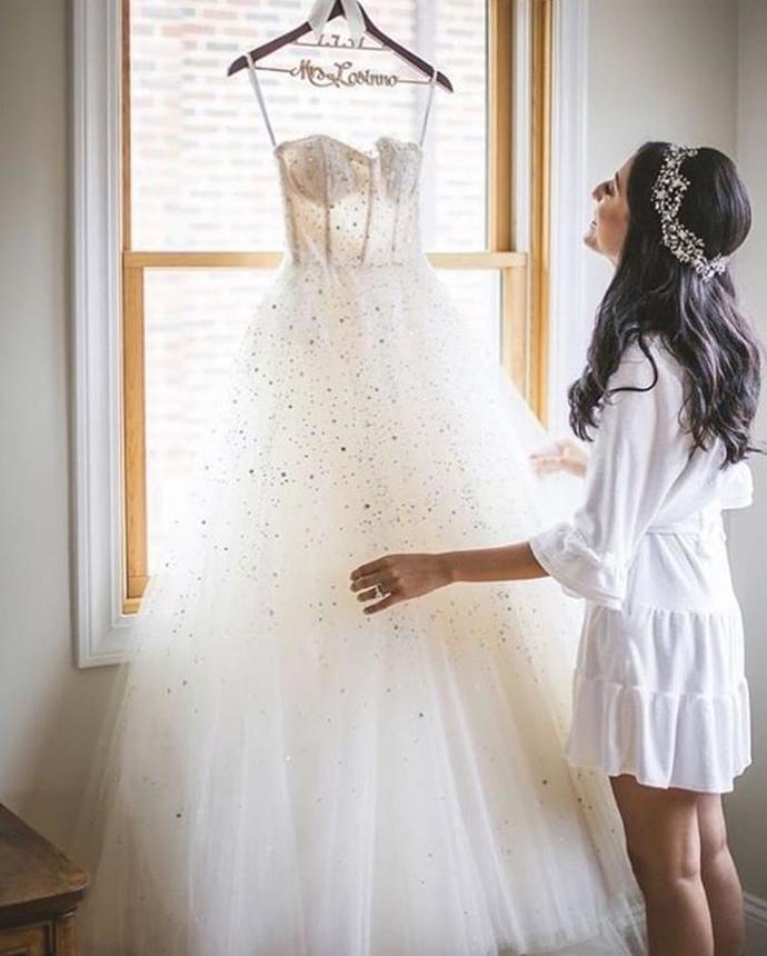Plus Size Wedding Dresses Spaghetti Straps by Miss Zhu Bridal on