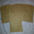 HM105 (2 Pieces) Machine Stitched Kraft Brown Paper Bags with Pocket Pink Thread