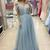 A-line Tulle Long Prom Dress ,2019 Fashion Formal Dresses ,Modest Pageant Dress