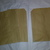 HM116 (2 Piece) Machine Stitched Kraft Brown Paper Bags Pink Thread