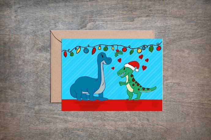 Dino Christmas