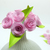 Tiny bouquet of rolled Paper Flowers, handmade in Thailand! Cute Wedding