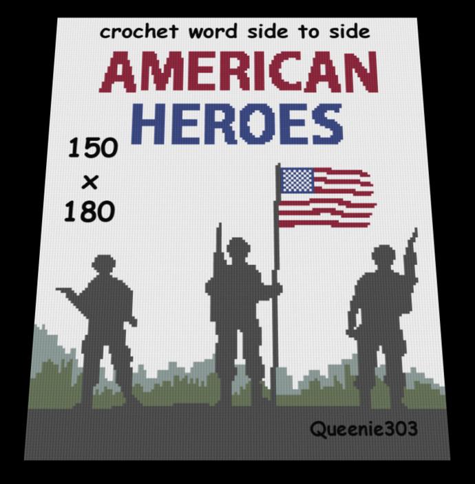 American Heroes 150x180
