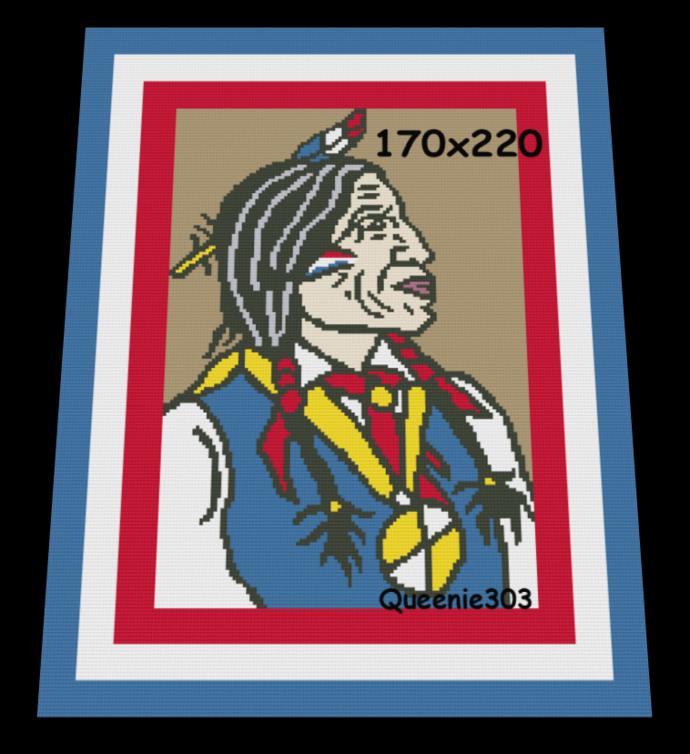 American Indian 170x220