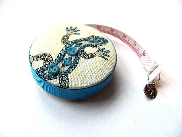 Measuring Tape Gecko Lizard Southwest Style RetractableTape Measure